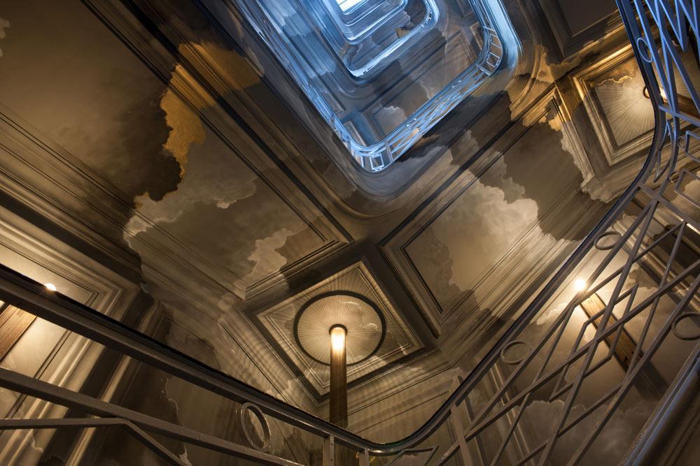 Stairwell at the Nolinski Paris