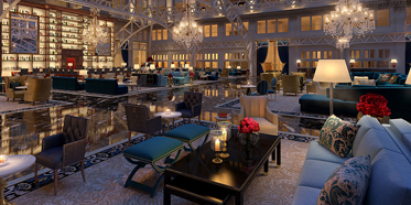 Lobby and Lounge at Trump International Hotel Washington DC, United States