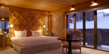 Guest Room at Aman Le Melezin, Courcheval, France