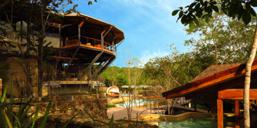 Pool and Exterior at Rio Perdido, Provinciade Guanacaste, Bagaces, Costa Rica