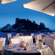 Fusion Restaurant at La Plage Resort, Taormina, Messina, Italy