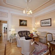 Suite Lounge at Grand Hotel Majestic Gia BaglioniBolognaItaly