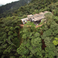 Aerial of Mashpi Lodge Ecuador