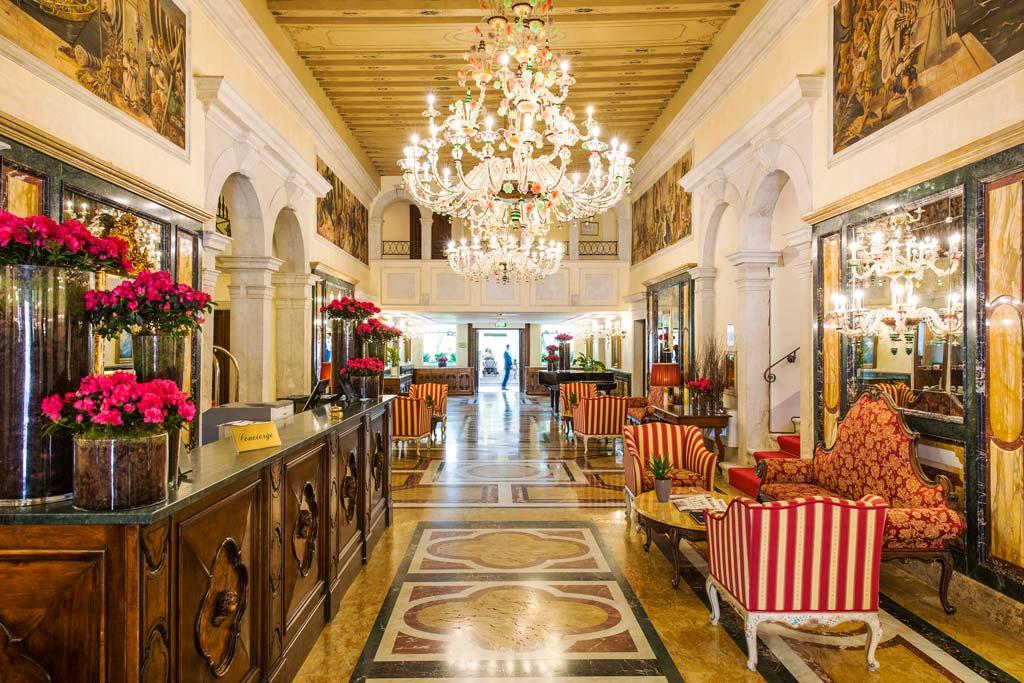 Lobby of the Boscolo Venice