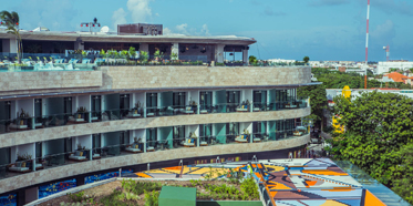Main Hotel of Thompson Playa del Carmen, Mexico