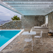 Suite Private Pool at Bill & Coo Suites and Lounge, Mykonos