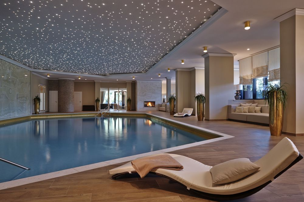 Indoor Pool at Kempinski Hotel Gravenbruch