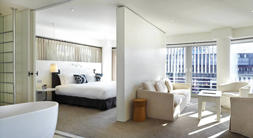The Hixson Suite with Walsh Bay Views at the Pier One Sydney Harbour Hotel
