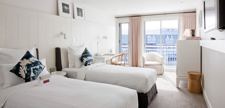 Heritage Twin Bed Waterside Room at Pier One Sydney Harbour
