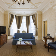 Suite Living Room at Chateau Versailles Hotel, Montreal, Canada