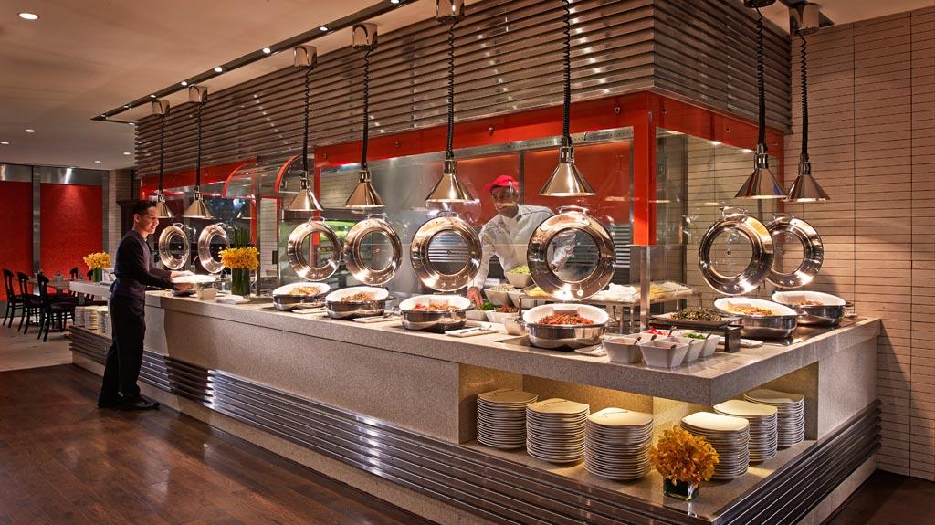Buffet Breakfast at Royal Plaza On Scotts, Singapore, Singapore