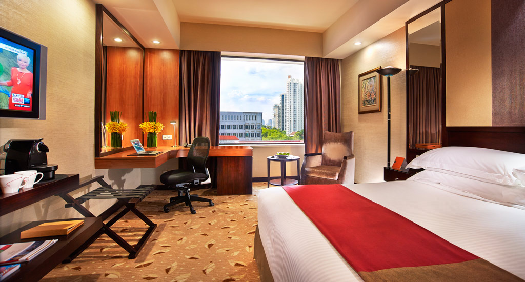 Deluxe Guest Room at Royal Plaza On Scotts, Singapore, Singapore