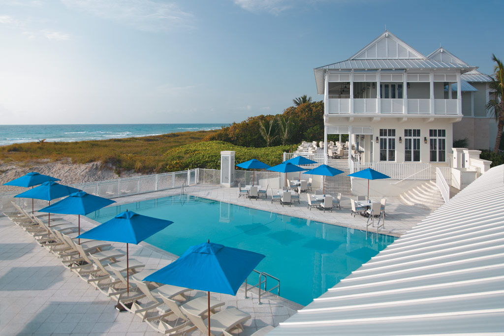 Outdoor Pool at The Seagate Hotel and Spa, Delray Beach, FL