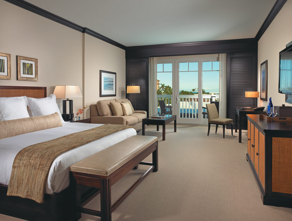 Superior King Guest Room at The Seagate Hotel and Spa, Delray Beach, FL