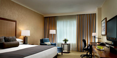 Guest Room at Hyatt Regency Calgary, Canada