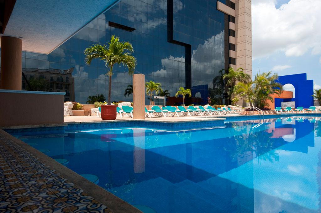 Outdoor Pool at Hyatt Regency Merida, Merida, YU, Mexico