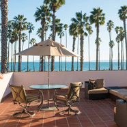 Suite Patio at Fess Parkers Doubletree Resort, Santa Barbara, CA