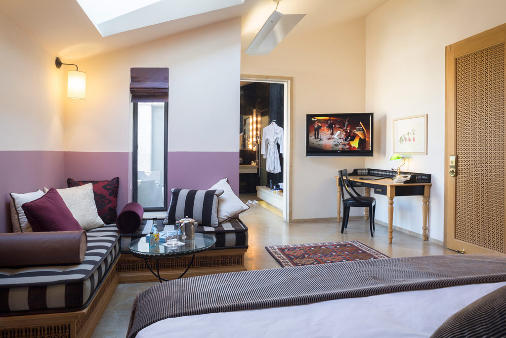 Suite Lounge at American Colony Hotel, Jerusalem, Israel