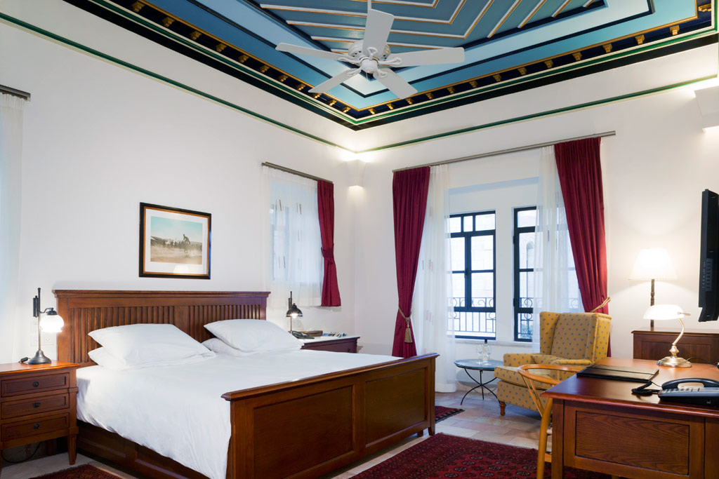 Deluxe Guest Room at American Colony Hotel, Jerusalem, Israel