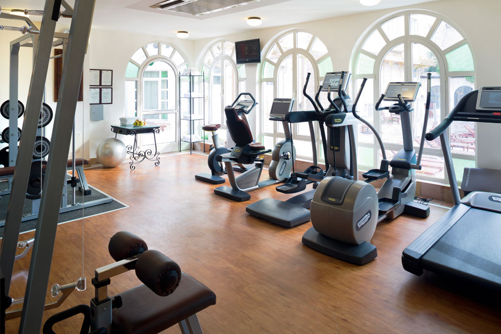 Gym at American Colony Hotel, Jerusalem, Israel