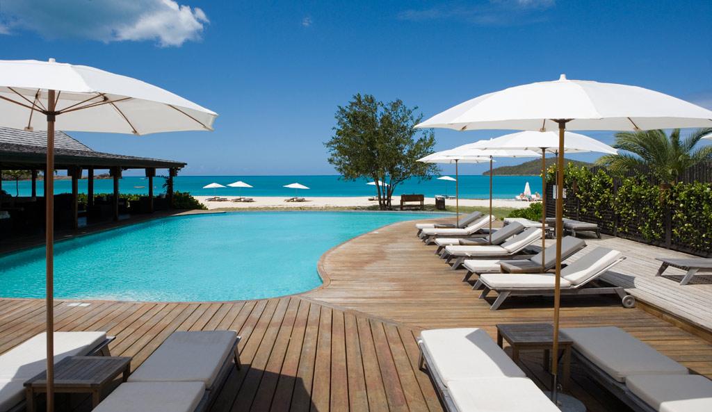 Outdoor Pool at Hermitage Bay, Antigua & Barbuda