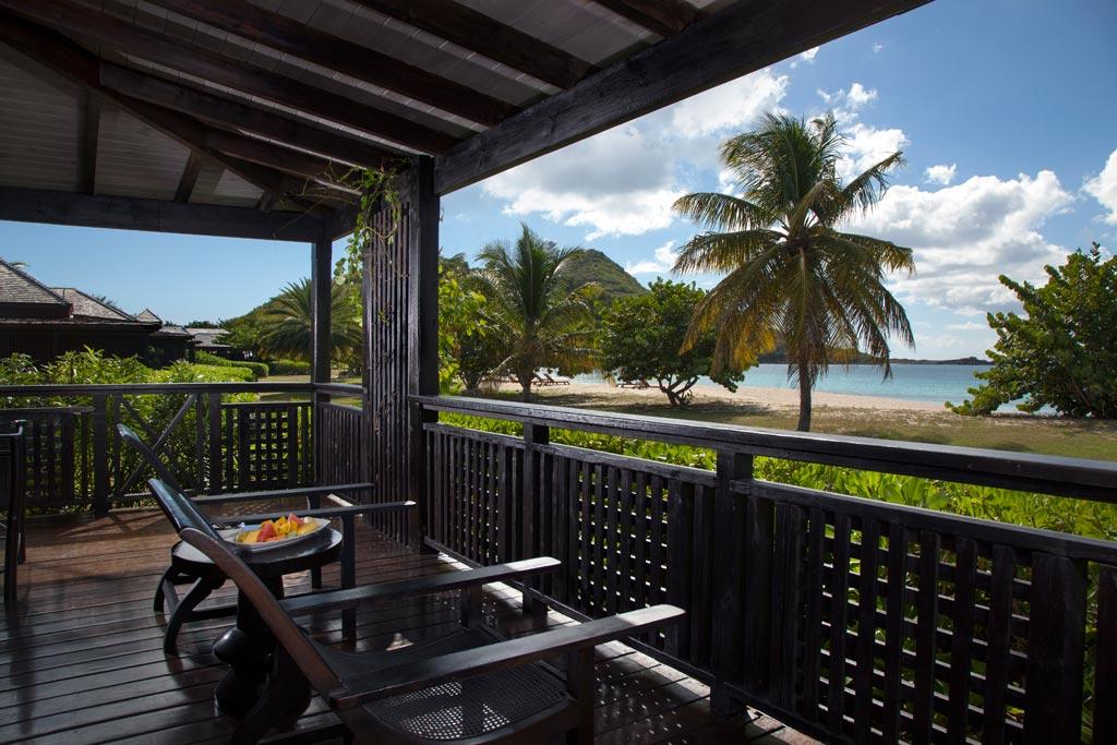 Beach Front Veranda at Hermitage Bay, Antigua & Barbuda