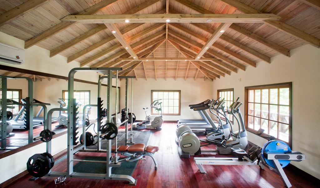 Gym at Hermitage Bay, Antigua & Barbuda