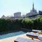 Rooftop Swimming Pool at SINA De La Ville, Milano, Italy