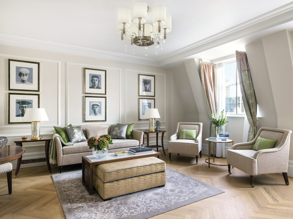 One Bedroom Suite Living Room at The Langham London, United Kingdom