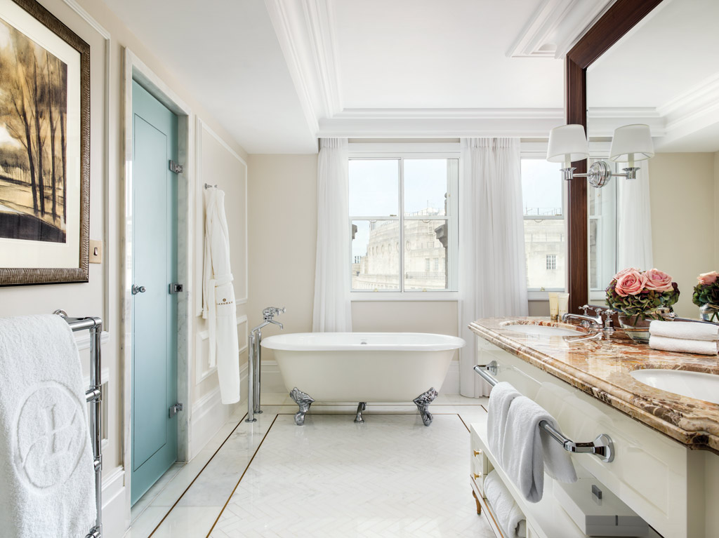 Executive Suite Bath at The Langham London, United Kingdom