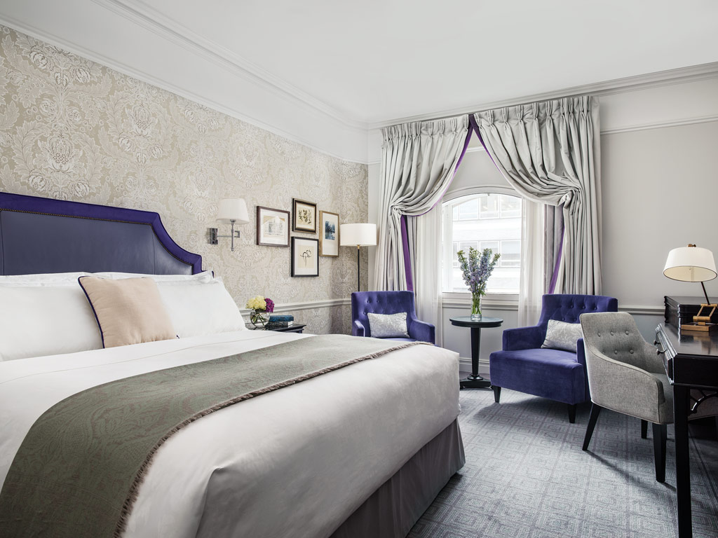 Deluxe Guest Room at The Langham London, United Kingdom