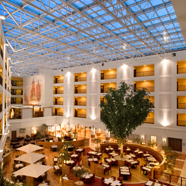 Lobby of Sheraton Grand Krakow, Poland