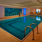 Indoor Pool at Sheraton Grand Krakow, Poland