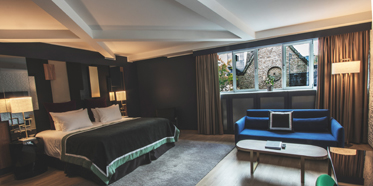 Junior Suite at First Hotel Skt  Petri, Copenhagen, Denmark