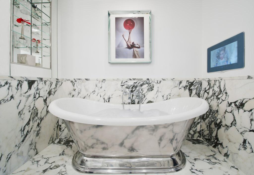 Bathroom at The Wellesley London