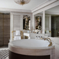 Suite Bath at Hotel de Crillon, Paris, France