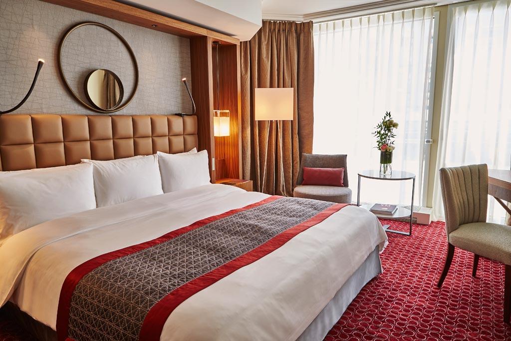 Premium Room at Grand Hotel Kempinski Geneva, Switzerland