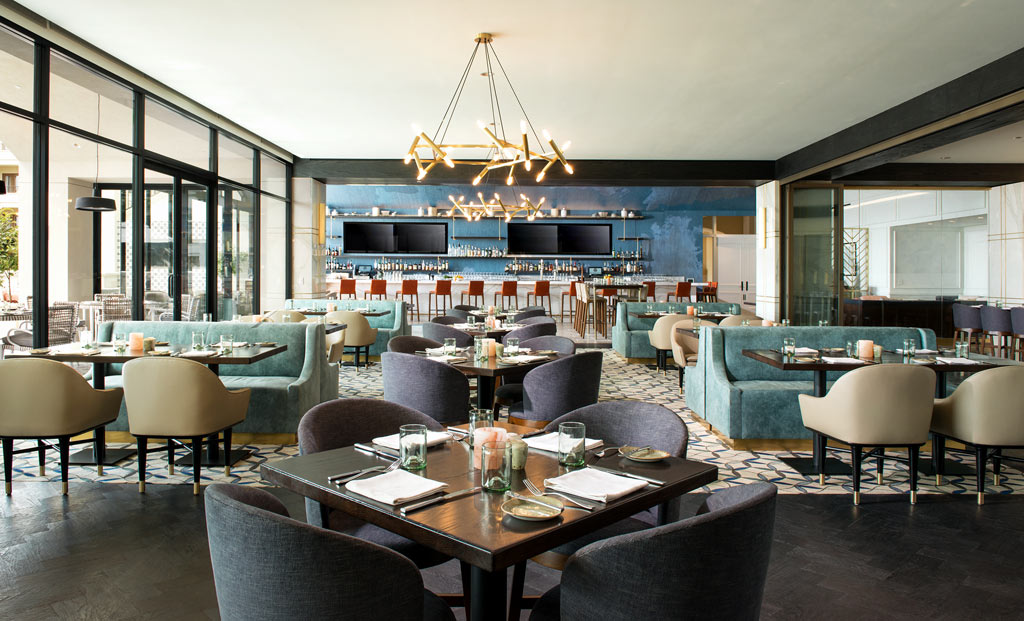 Bar and Dining Room at Monarch Beach Resort, Dana Point, CA