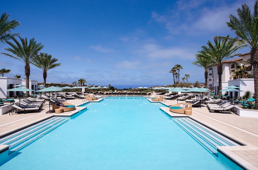 Outdoor Pool at Monarch Beach Resort, Dana Point, CA