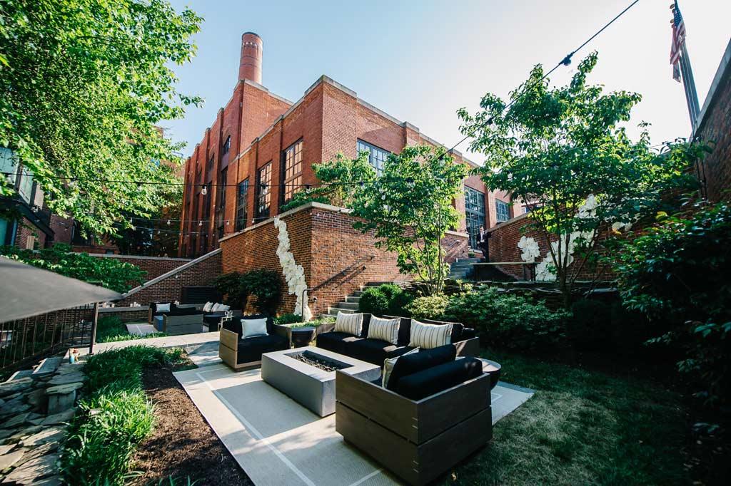 Yard Spa at Ritz Carlton Washington DC