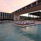 Outdoor Pool and Lounge at Grand Hyatt Playa del Carmen Resort, Playa del Carmen, Mexico
