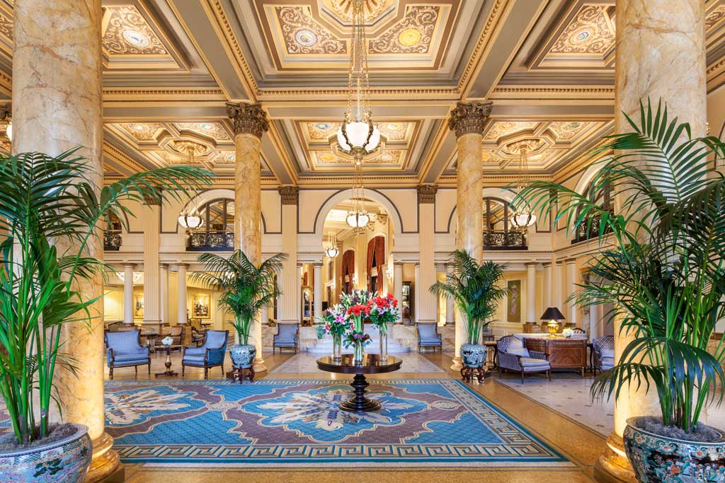 Lobby of The Willard InterContinental, Washington, DC
