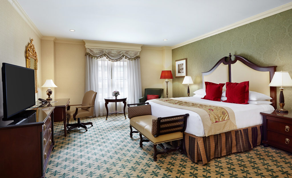 Deluxe King Guest Room at The Willard InterContinental, Washington, DC