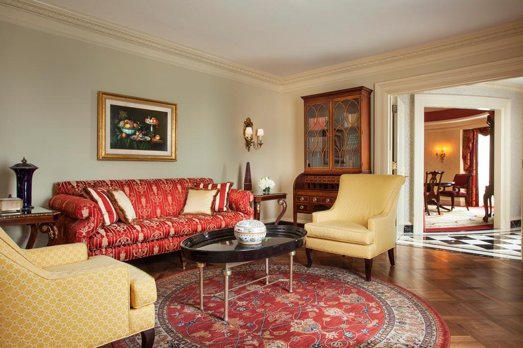 Thomas Jefferson Suite at The Willard InterContinental, Washington, DC