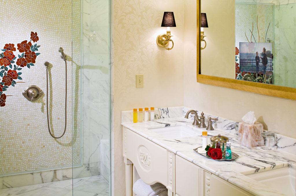 Suite Bath at The Willard InterContinental, Washington, DC