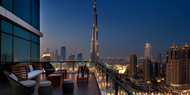Maharaja Terrace at Taj Dubai, United Arab Emirates