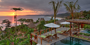 Nihi Sumba Island, formerly Nihiwatu Resort, is on the island of Sumba, East of Bali.