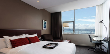 Premium Harbor View King Guest Room at Rydges Auckland, New Zealand
