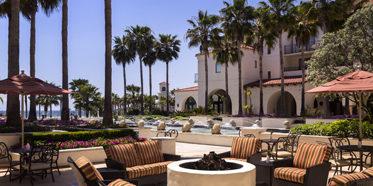 Outdoor Terrace at Hyatt Regency Huntington Beach, CA