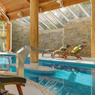 Indoor Pool at Sheen Falls Lodge, Kerry County, Ireland